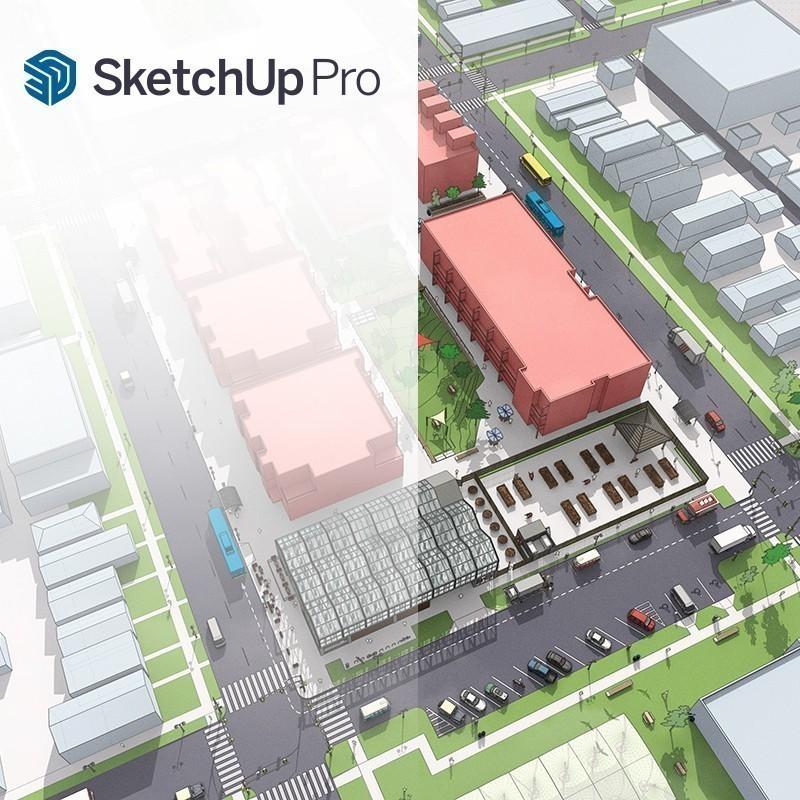 O SketchUp Pro é uma ferramenta surpreendentemente poderosa e simples de usar. Utilizada para criar, visualizar, apresentar e modificar ideias 3D, rápida e facilmente, tenta ligar a simplicidade e espontaneidade do desenho a lápis com a rapidez e flexibilidade do computador. O SketchUp Pro foi desenvolvido com o objetivo de colocar a modelação 3D acessível a todos.  A nossa formação pode incluir o V-Ray para SketchUp que é o líder Mundial nos motores de render.