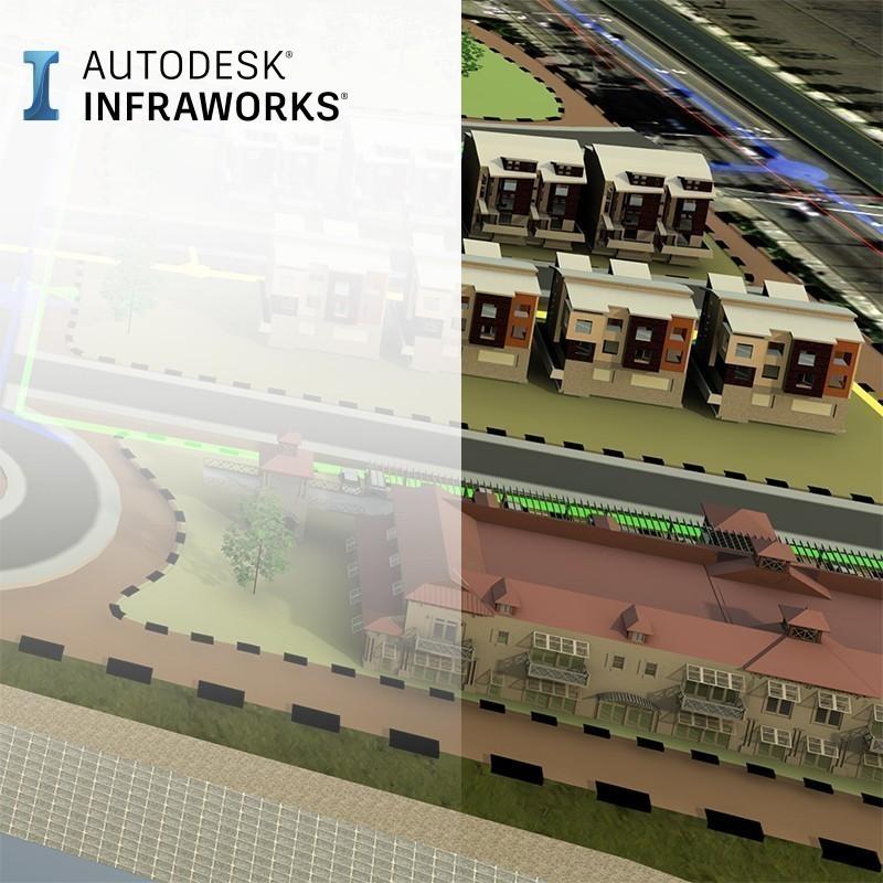 O InfraWorks é uma plataforma BIM geoespacial e de engenharia que permite o planeamento e construção de infraestruturas baseados em dados reais.  Com o InfraWorks os projetistas podem antecipar os riscos e desafios do projeto de forma a tomarem as melhores decisões com base em análises e simulações utilizando modelos inteligentes.